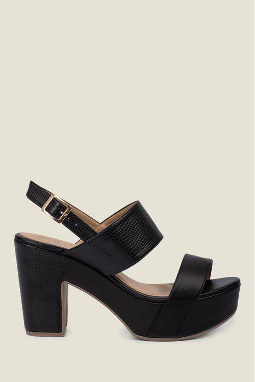 Zapatos para mujer tipo sandalia en sintetico maca