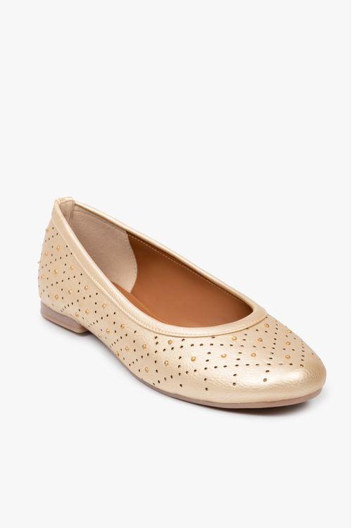 Zapatos tipo baleta en sintetico