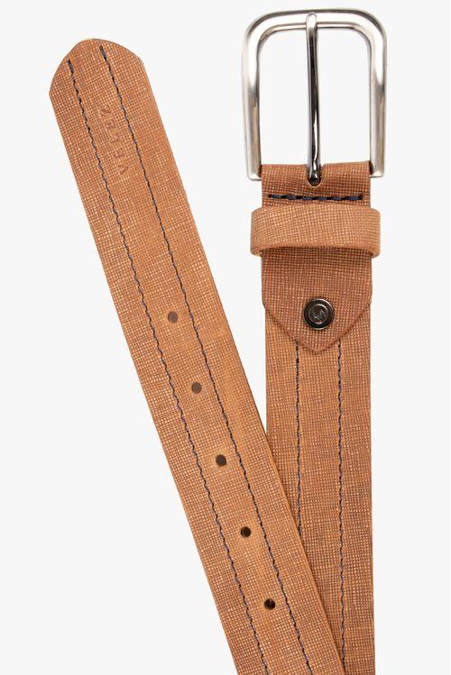 Cinturón unifaz Navy de cuero