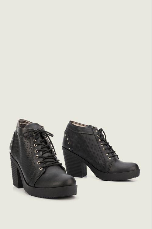 Zapatos tipo botin para mujer en sintetico alicia