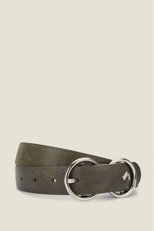 Cinturón Adasa de cuero para mujer