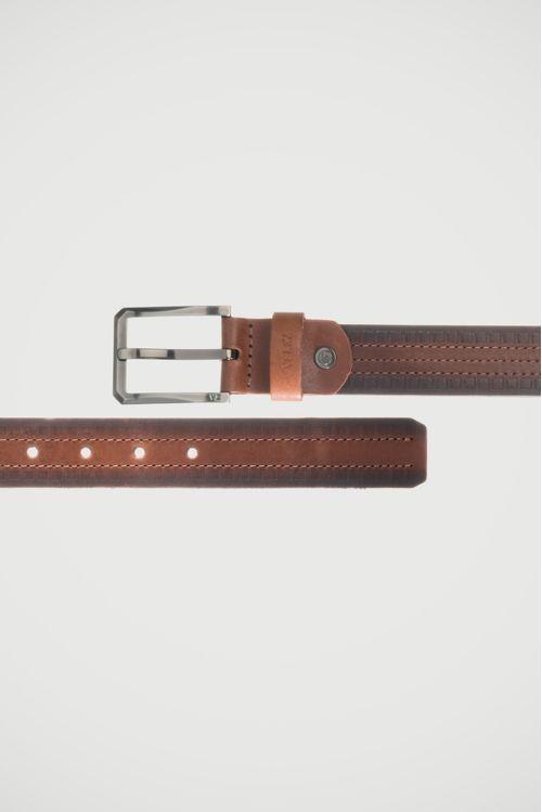Cinturón unifaz Citten de cuero para hombre
