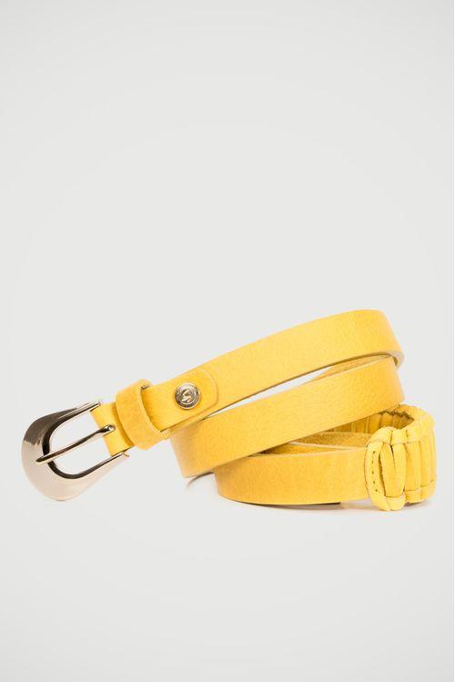 Cinturón unifaz Adelaide de cuero para mujer