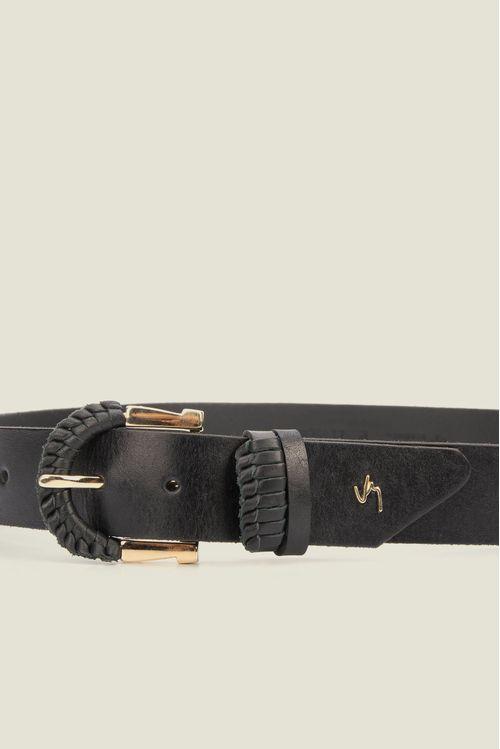 Cinturón Unifaz Constanta de cuero para mujer