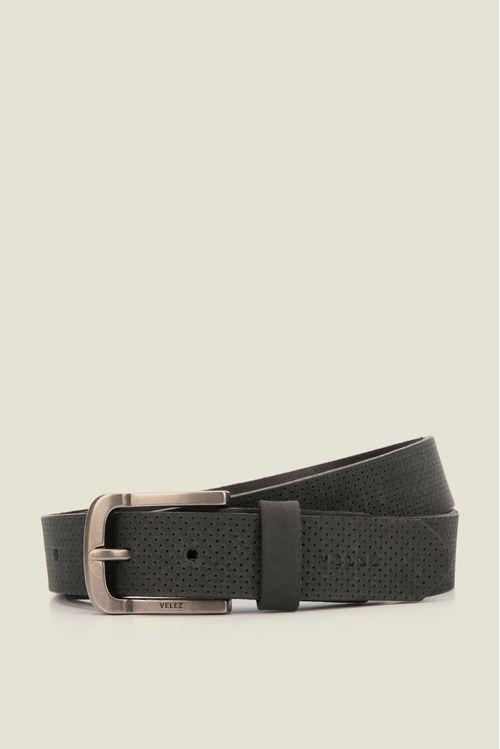 Cinturón unifaz de cuero para hombre