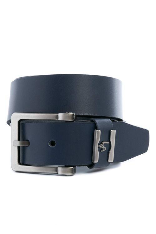 Cinturón unifaz Wrinkle de cuero