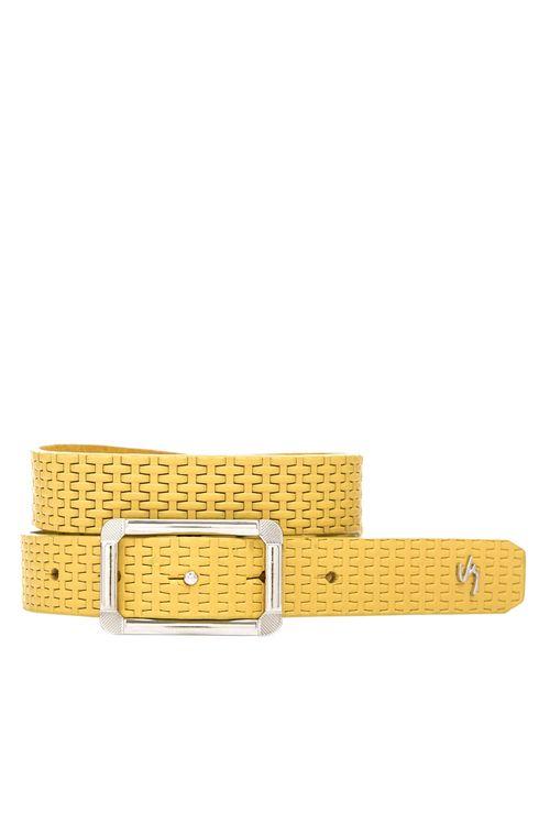 Cinturón Unifaz Naturalista de cuero para mujer