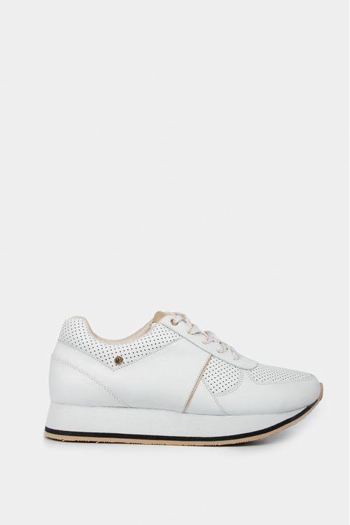 Zapatos para mujer tipo sneaker en cuero