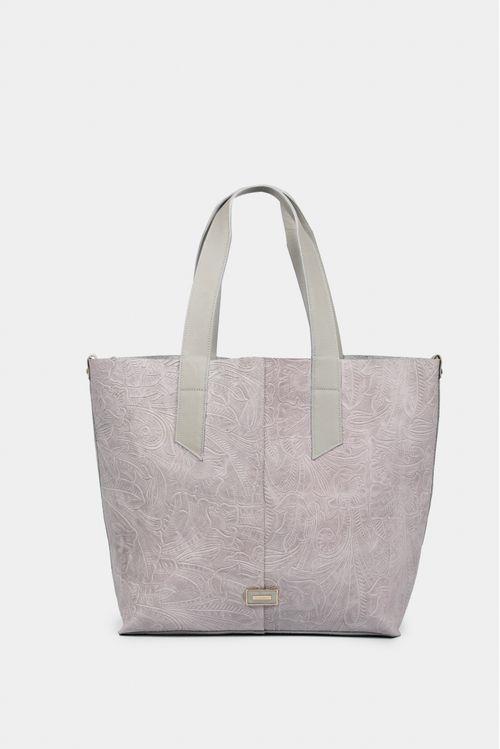 Bolso para mujer tipo Shopping en cuero