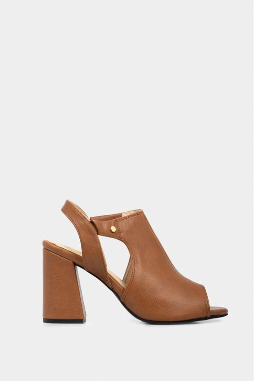 Zapatos tipo sandalia en sintetico para mujer