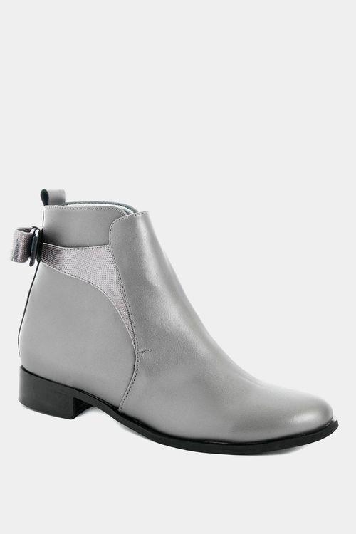 Zapatos tipo botin para mujer en sintetico wagner