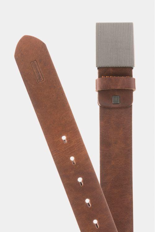 Cinturón para hombre unifaz de cuero chip