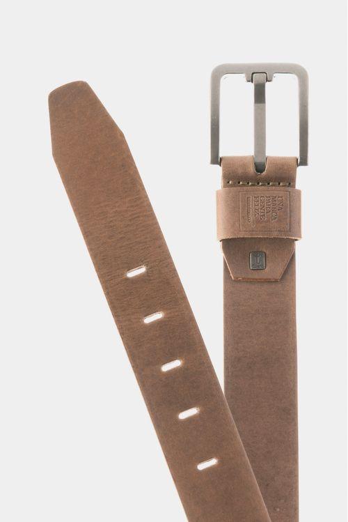 Cinturón para hombre unifaz de cuero dan