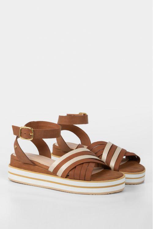 Zapatos para mujer tipo sandalia en cuero kia