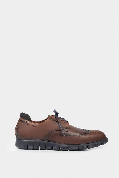 Zapatos cordón de cuero derby