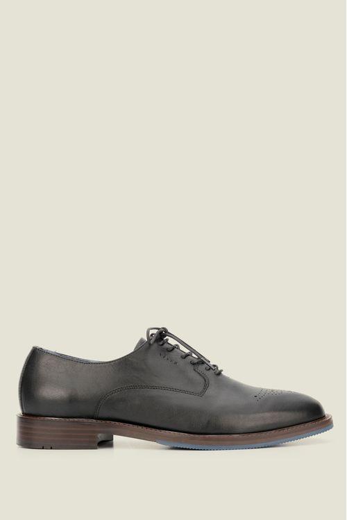 Zapatos kingo de cuero con cordón