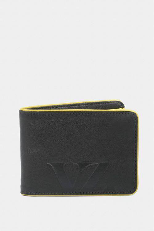 Billetera de cuero grabado VZ