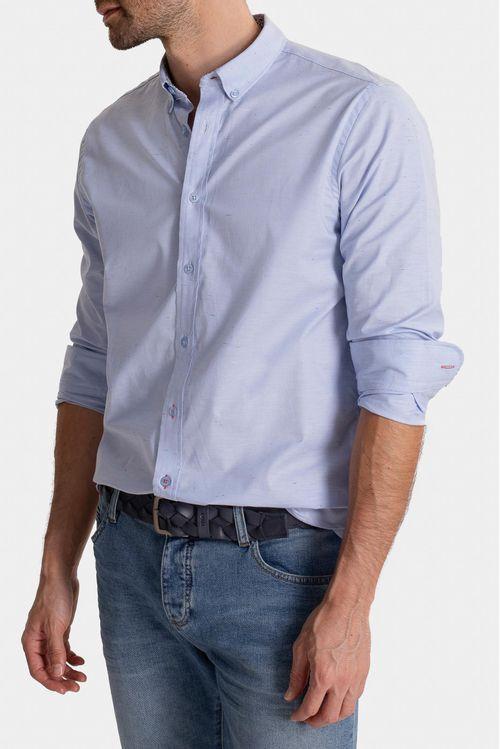Camisa manga larga algodón tradicional