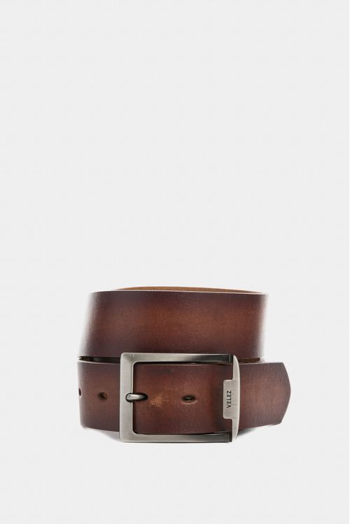 Cinturón unifaz boston de cuero para hombre