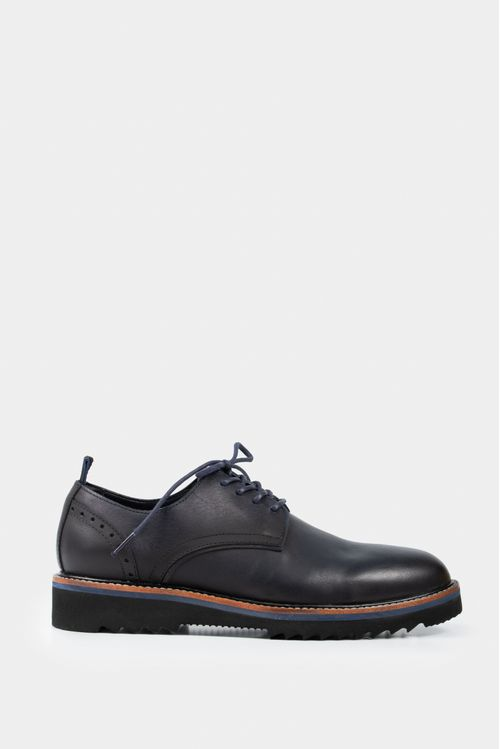 Zapatos cordón de cuero vintage
