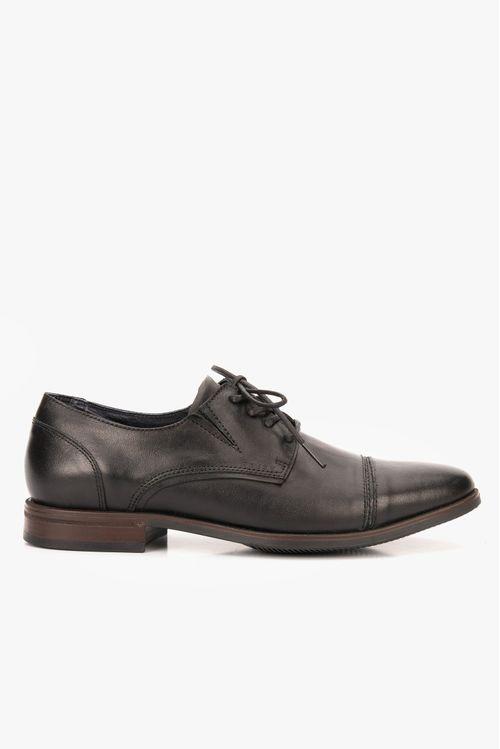 Zapatos cento de cuero con cordón